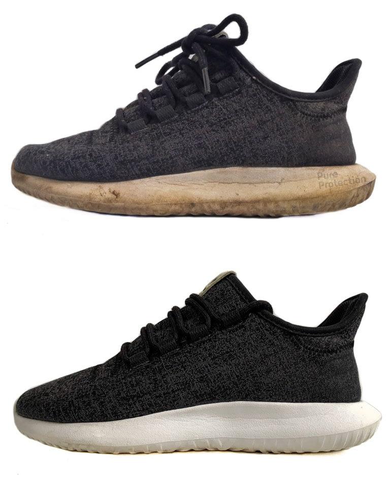 Чистка тканевых кроссовок и кед
